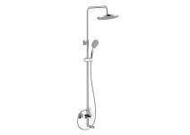 Смеситель для ванны с верхним «тропическим» душем BARROS 22511BR