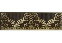 1502-0576 КАТАР бордюр коричневый 7,5х25