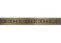 1502-0578 КАТАР бордюр коричневый 2,8х25